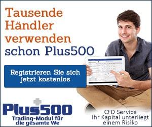 Plus500 Willkommensbonus